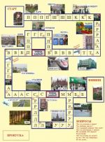 """Game set """"Where are you going?"""" (Kuda ty idyosh?) for learners of Russian"""