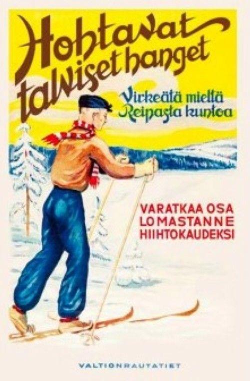 Postcard Winter holiday / Hohtavat talvise...