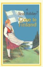 Открытка A Real Holiday? Come to Finland