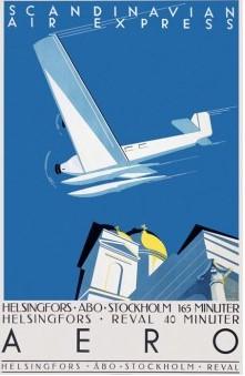 Postcard Aero Helsinki