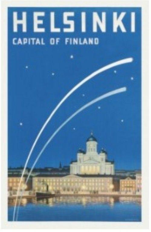 Postcard Helsinki Capital of Finland