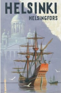 Postcard Helsinki - Sailing ship