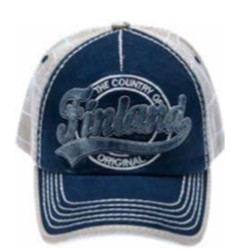 Lippis sininen - Cap Original Stitched Finland