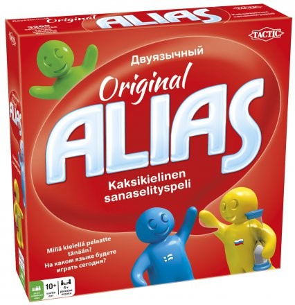 Board game Alias Original. Bilingual Russian-Finnish for children 10+