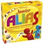 Board game Junior Alias. Bilingual Russian-Finnish for children.