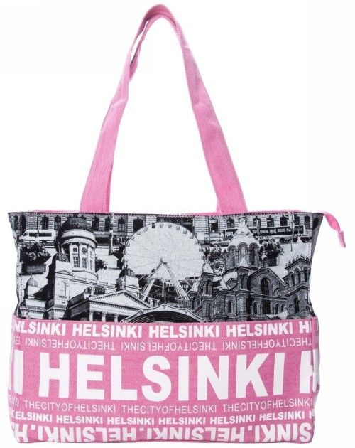 Laukku - Photo Bag Large Helsinki