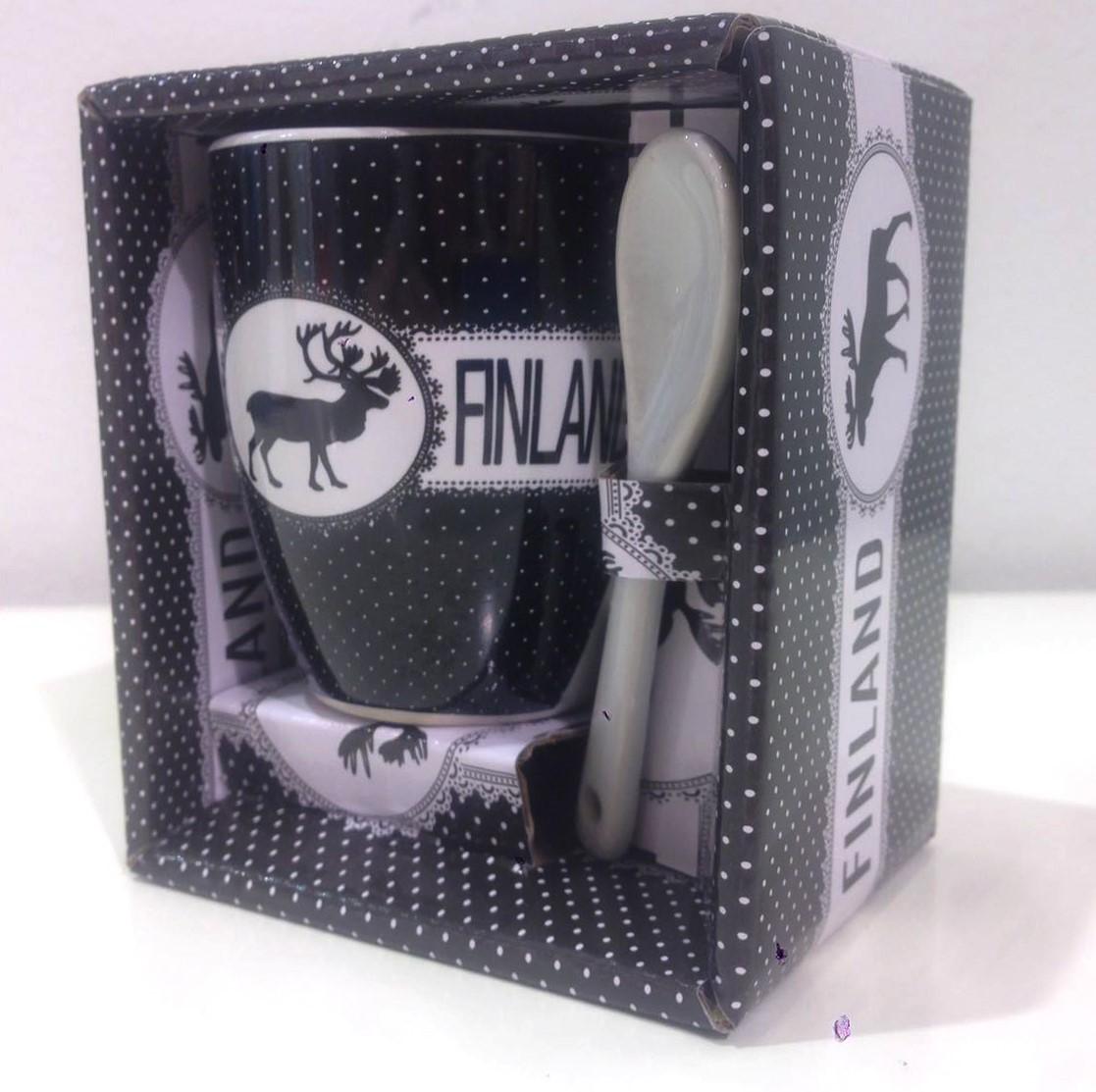Кружка - Mug Vintage Finland  F99C