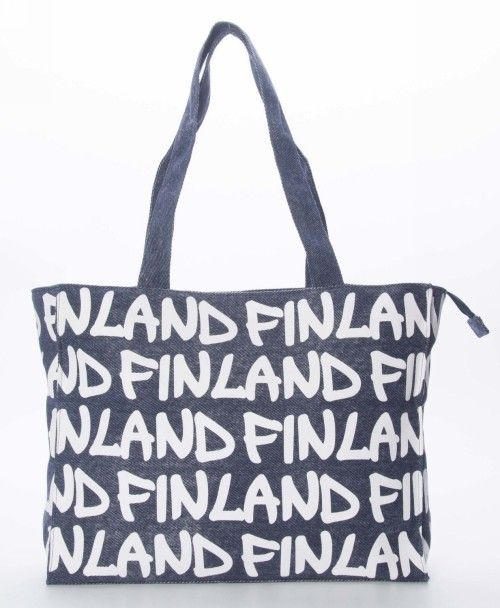 Sumka - Canvas Bag Large in Denim, Finland /F2C