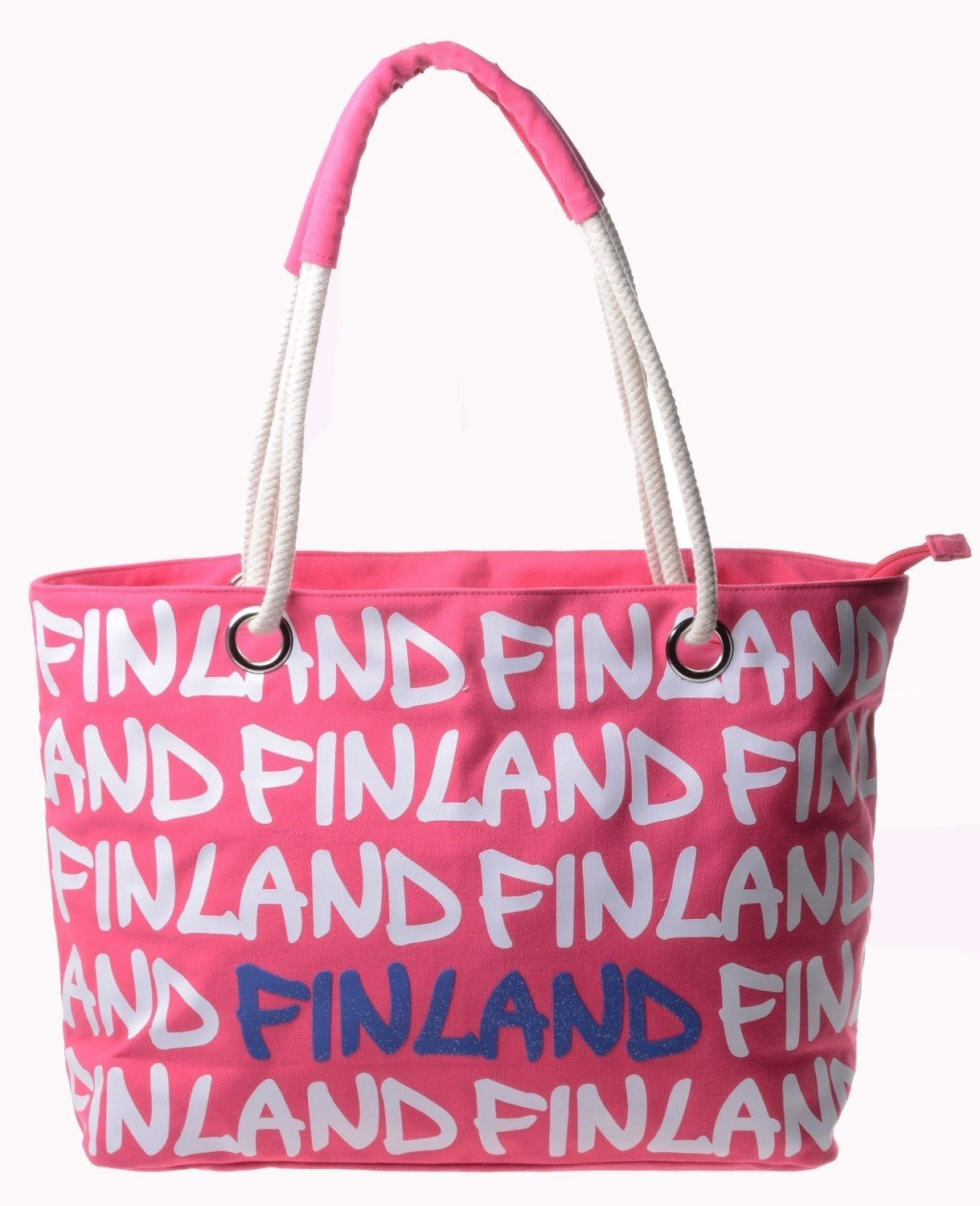 Laukku - Canvas Bag Large Rope Finland
