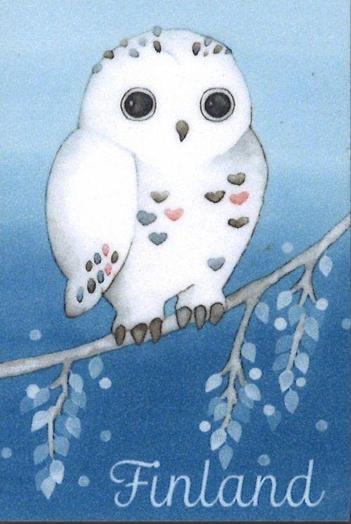 Magnet Owl. Finland