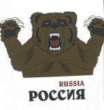 Футболка /T-shirt Россия  (белый)