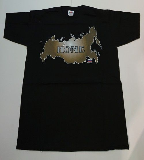 T-shirt - HOME Russia (map)
