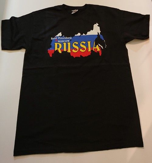 T-shirt - Saint Petersburg Russia (MOSCOW black)