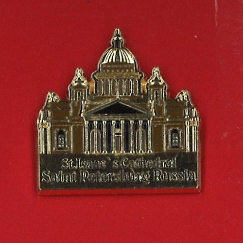Pin - St. Isaac's Cathedral Saint Petersburg Russia