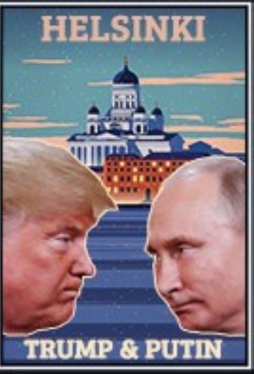 Matches. Presidents Trump & Putin. Helsinki