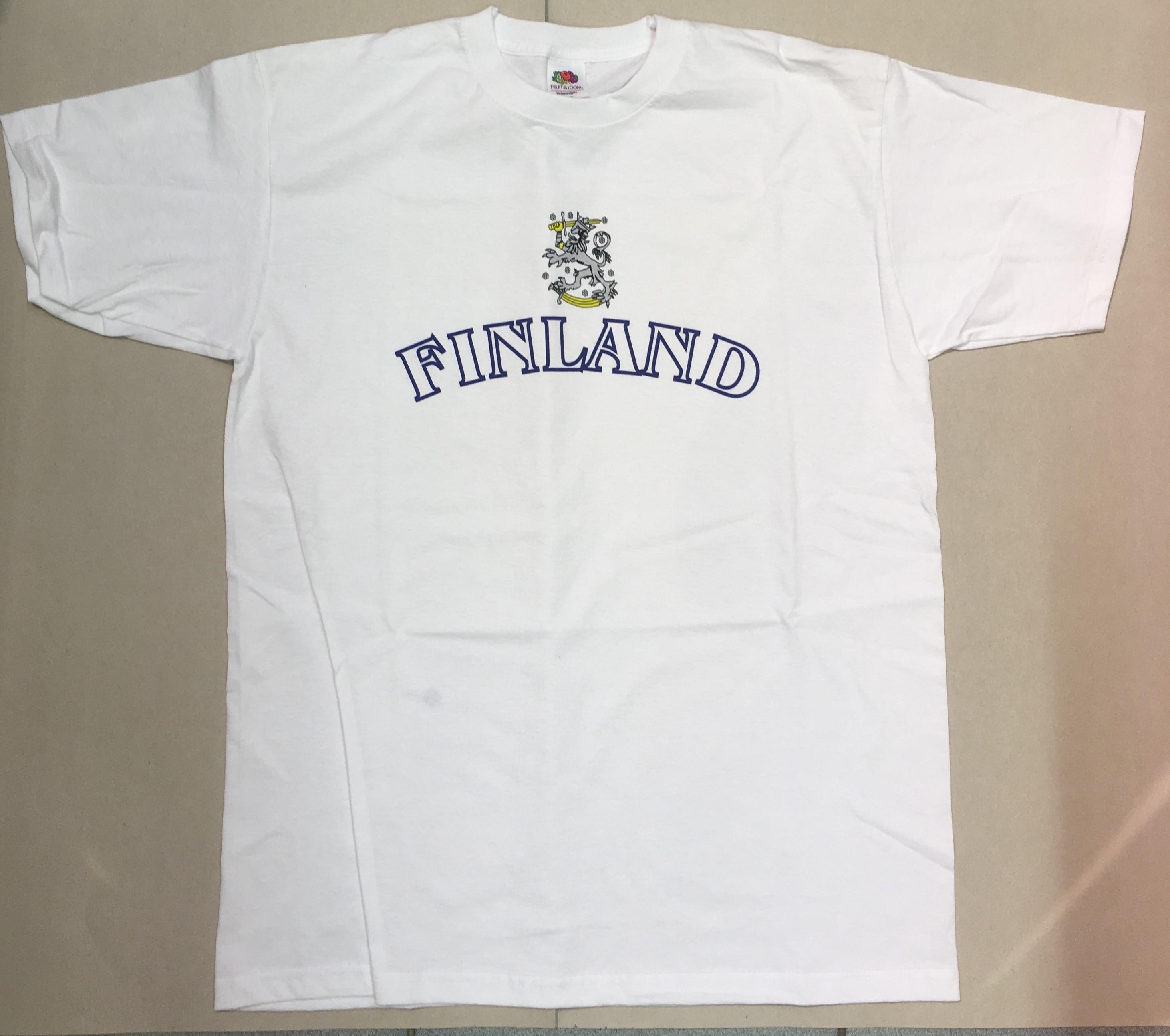 Футболка белая Finland