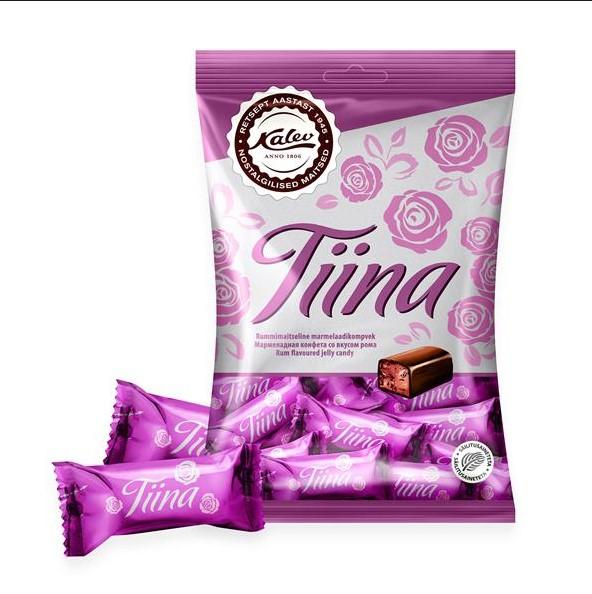 Мармеладные конфеты со вкусом рома - Tiina, Kalev