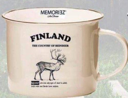 Story Mug Finland Beige