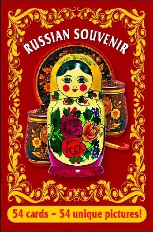 Gift cards. Souvenir Matryoshka