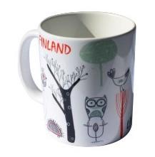 Souvenir Ceramic Mug - Helsinki Finland Lapland