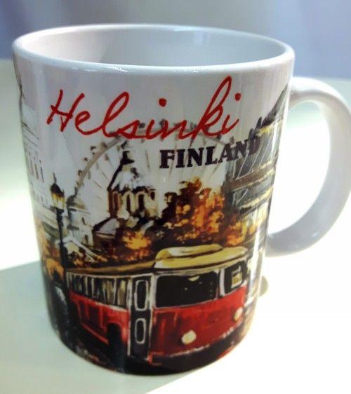 Mug - Helsinki Finland
