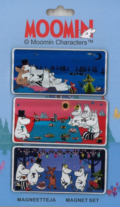 Magnets 3 pieces Moomin