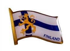 Pin - Flag / Finland