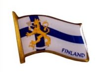 Pin - Flag / Finland