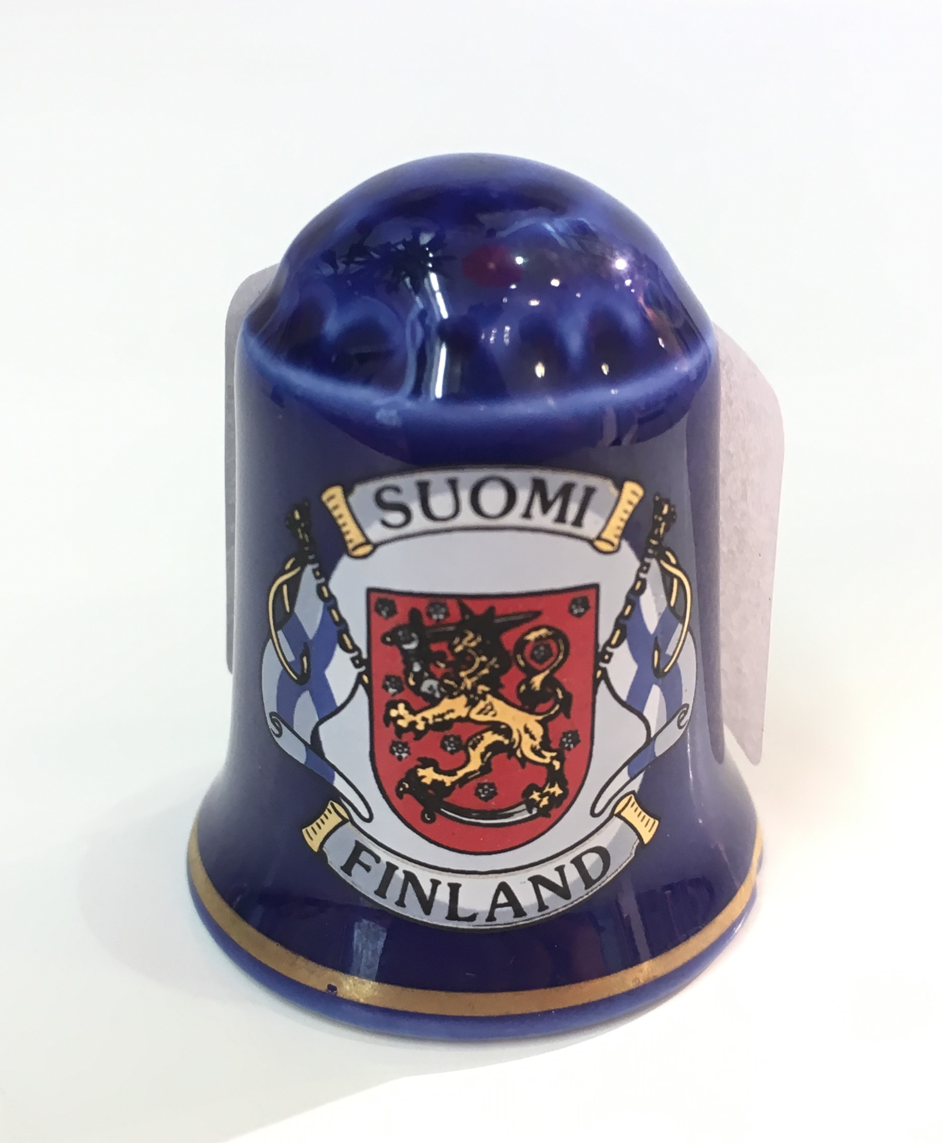 Thimble coat of arms Suomi Finland