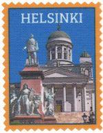 Iron-on patch Helsinki