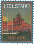 Термоаппликация Helsinki Finland