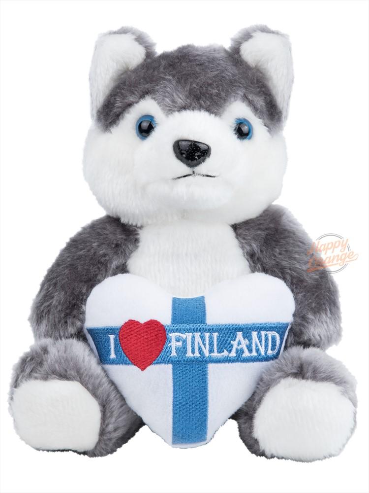 Soft toy Husky - 16 cm