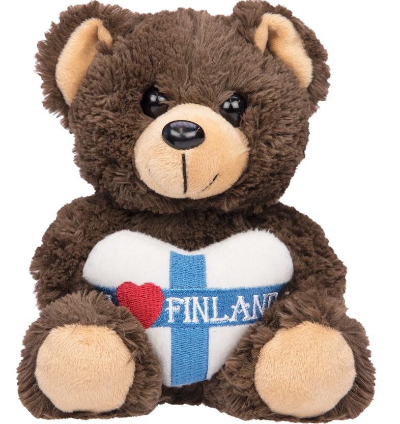Sydän Nalle Pehmo S 16 cm