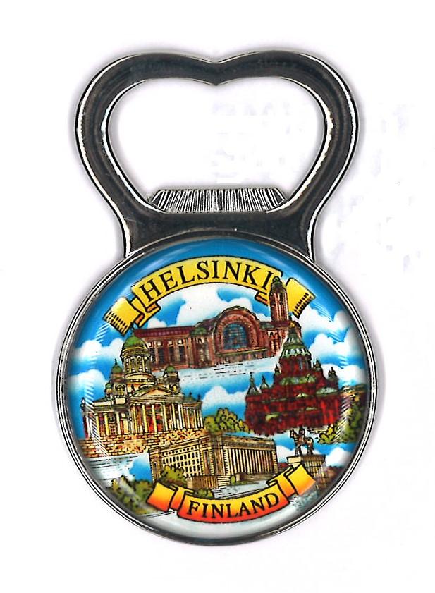 Magnet bottle opener Helsinki