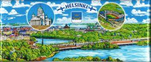 Магнит Панорама Хельсинки