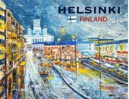Postcard Helsinki Finland