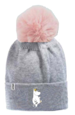 Winter Hat Pon Emb. Moomin/ SNORKM21A