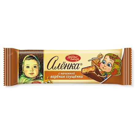 Alenka milk chocolate cream filling 48g