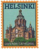 Iron-on patch Helsinki Uspenski Cathedral