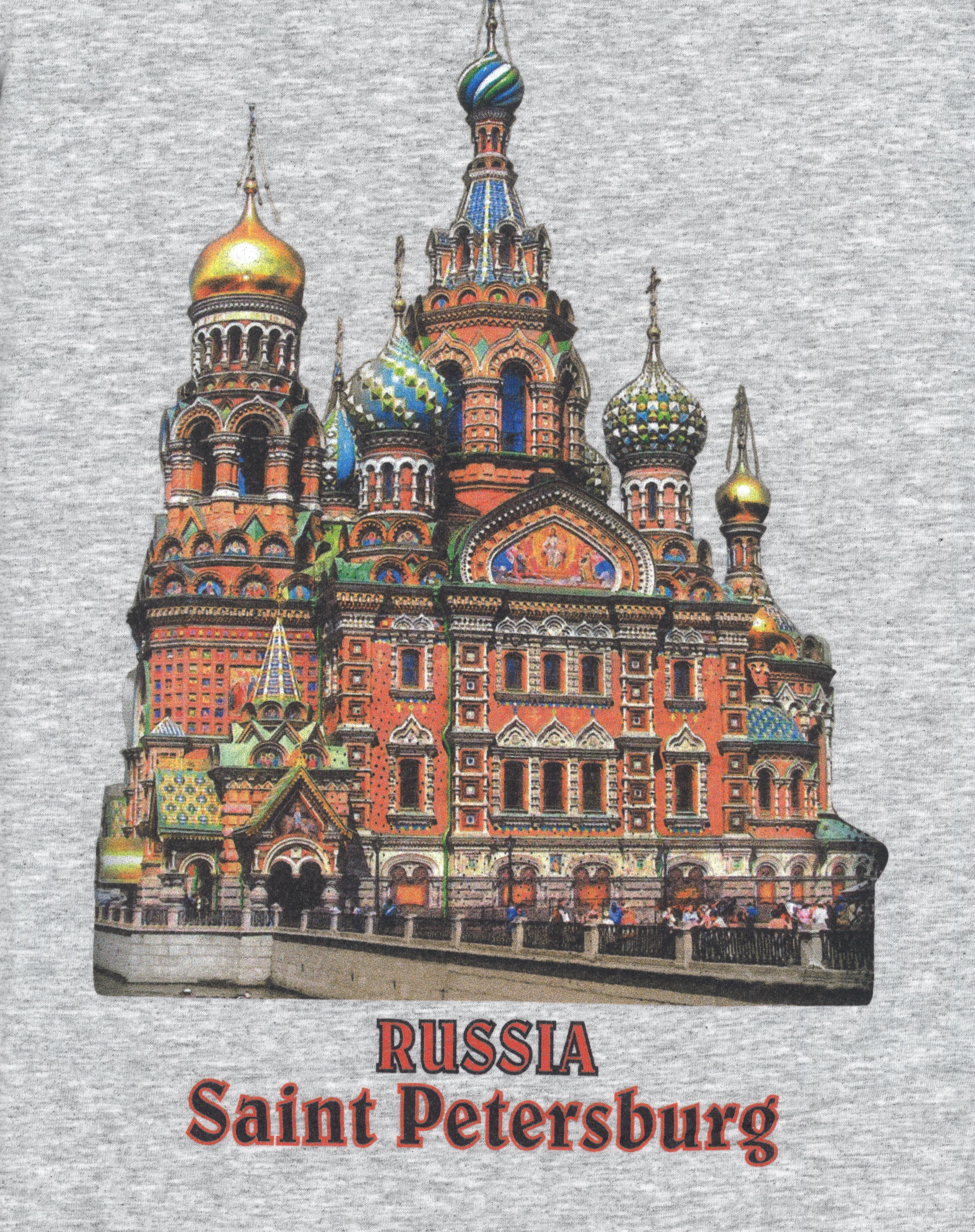 Футболка / T-shirt Россия Санкт-Петербург