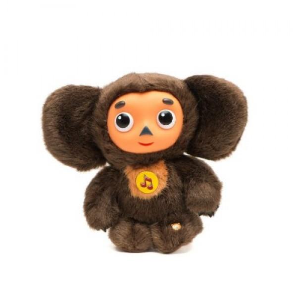 Speaking soft toy, Cheburashka, 14 cm