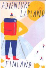 Postcard  Adventure Lapland Finland