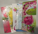 The Women's Day - 5-piece set of postcards