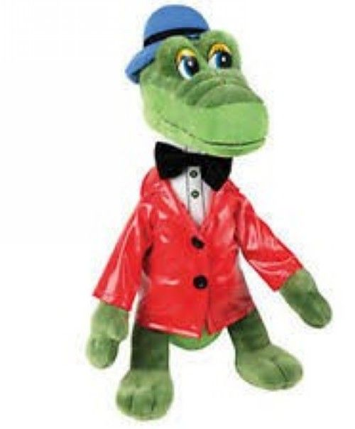 "Speaking soft toy ""Gena the Crocodile"""