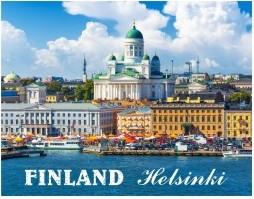 Postcard Finland Helsinki