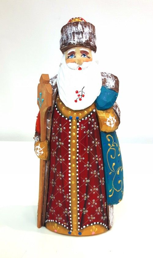 Wooden figure - Santa Claus