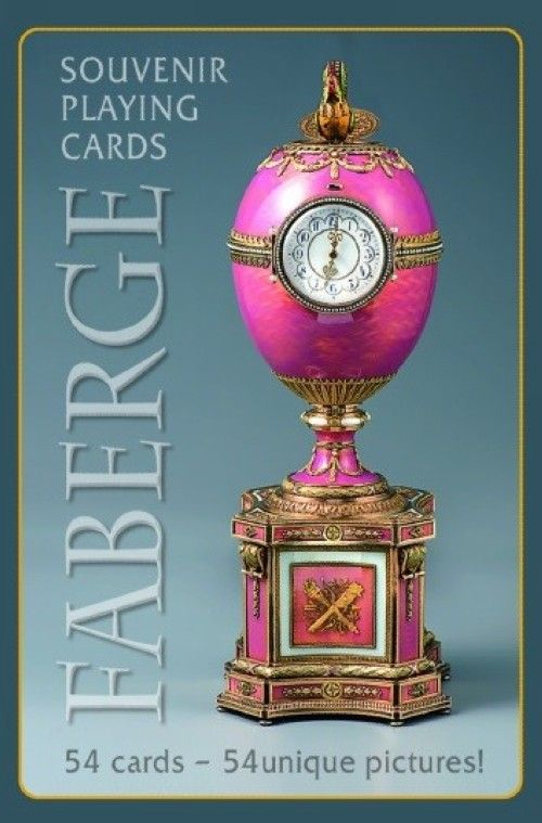 Souvenir playing cards FABERGE