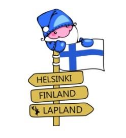 Магнит Helsinki Finland Lapland