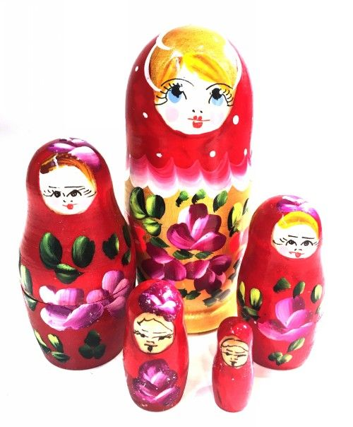 Matryoshka Zlata, 5 items