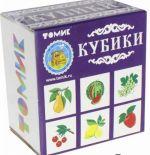 """Развивающие кубики """"Фрукты-ягоды"""""""